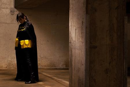 Cassandra Cain from Batman worn by Lockheart