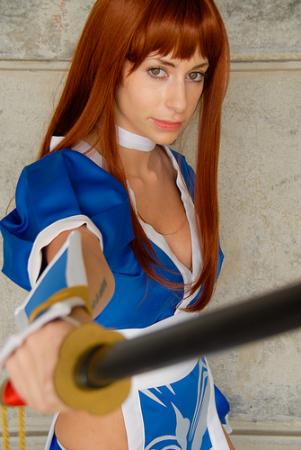 Kasumi from Dead or Alive 4 worn by Kurzes Haar