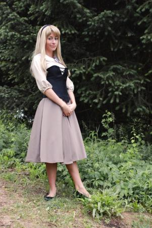 Briar Rose from Sleeping Beauty worn by Kurzes Haar