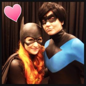 Nightwing from DC Comics worn by LoveJoker