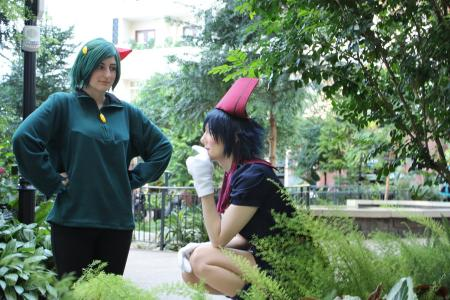 Sneasel from Pokemon worn by christeenapants