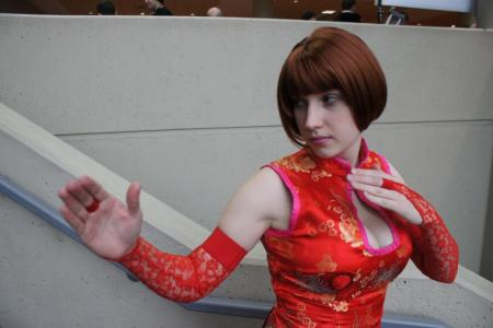 Anna Williams from Tekken 5 worn by Trin