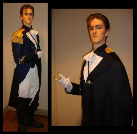 Treize Kushrenada from Mobile Suit Gundam Wing