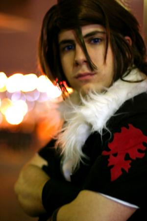 Leon from Kingdom Hearts 2 (Worn by Robtachi)