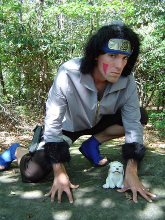Kiba Inuzuka from Naruto worn by Flexei