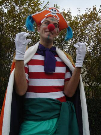 Buggy the Clown from One Piece worn by Flexei