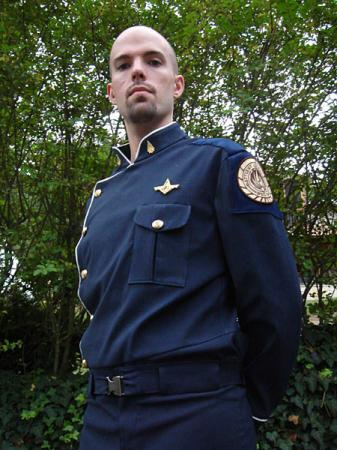 Officer from Battlestar Galactica worn by Flexei