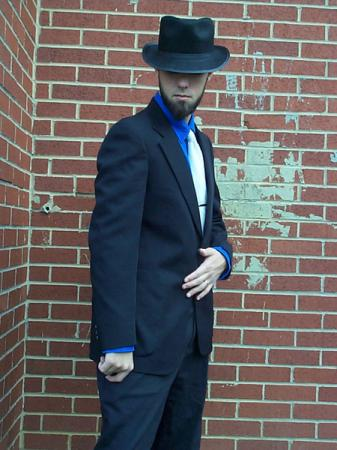 Jigen from Lupin III worn by Flexei