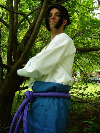 Sasuke Uchiha from Naruto Shipp&#363;den worn by Flexei
