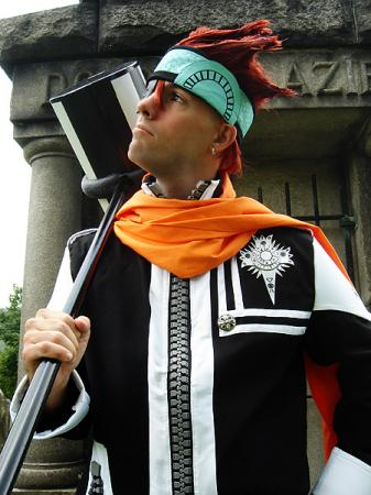 Lavi from D. Gray-Man worn by Flexei