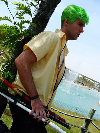 Roronoa Zoro from One Piece worn by Flexei