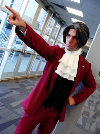 Miles Edgeworth from Phoenix Wright: Ace Attorney (Worn by Flexei)