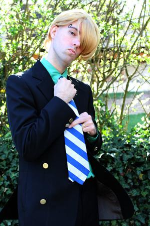Sanji from One Piece worn by Flexei