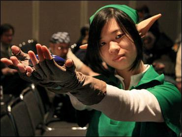 Link from Legend of Zelda worn by Ada