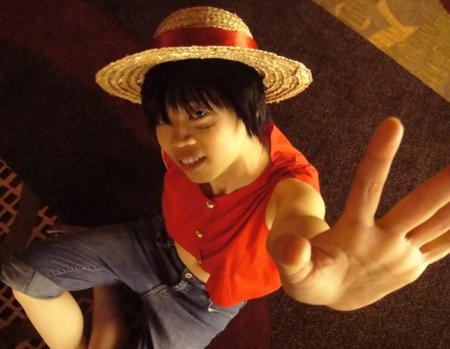 Monkey D. Luffy from One Piece worn by Ada