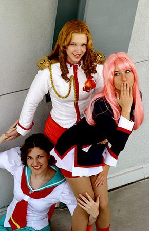 Utena Tenjou from Revolutionary Girl Utena worn by Zan