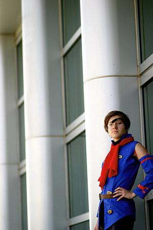 Vyse from Skies of Arcadia worn by Zan