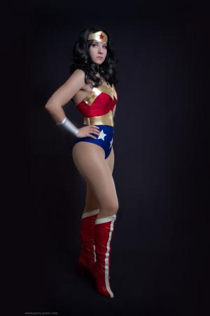 Wonder Woman from Justice League worn by Zan