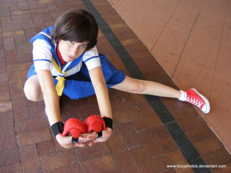 Sakura Kasugano from Street Fighter Alpha worn by ShinobuWind
