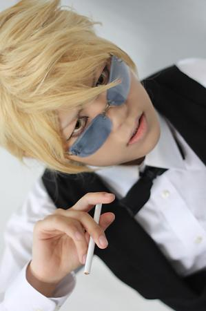 Shizuo Heiwajima from Durarara!! worn by Yuki Amagi