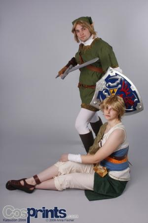 Link from Legend of Zelda: Twilight Princess worn by LoraFloraDora