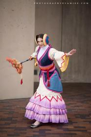 Lady Ginnem from Final Fantasy X  by Cimorene