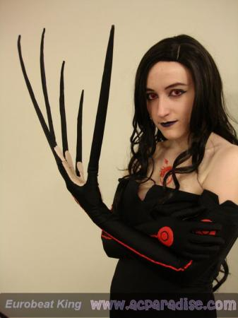 Lust from Fullmetal Alchemist worn by BluFireDragon667