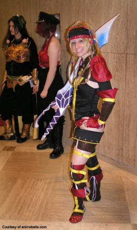 Rikku from Final Fantasy X-2 worn by Imriela