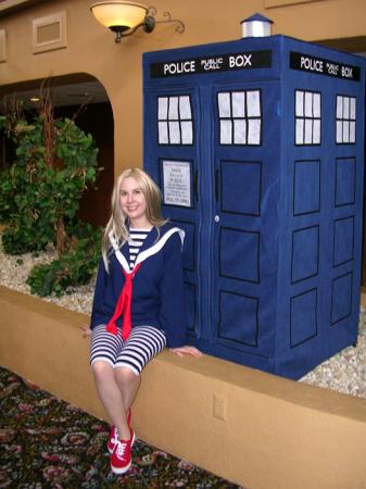 Romana from Doctor Who worn by twinklebat