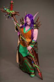 Night Elf from World of Warcraft worn by Serephita