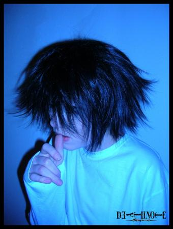 L / Ryuuzaki from Death Note worn by Sora_no_Kokoro