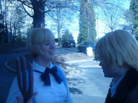 Ukraine from Axis Powers Hetalia worn by MissMina2