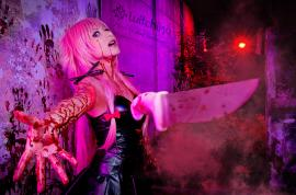 Yuno Gasai from Future Diary worn by Witchiko
