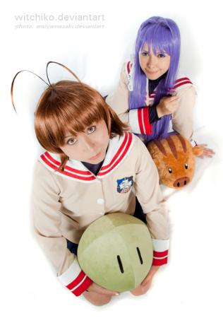 Furukawa Nagisa from Clannad worn by Witchiko