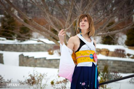 Yuna from Final Fantasy X worn by Blanko