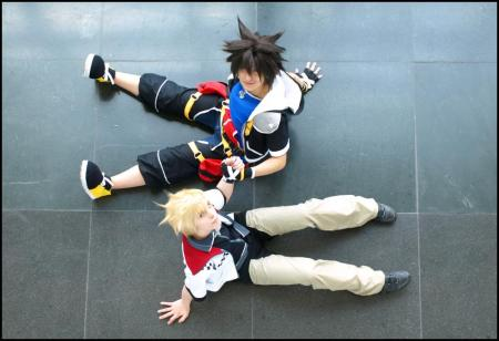 Roxas from Kingdom Hearts 2 worn by Blanko