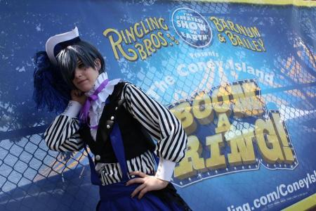 Ciel Phantomhive from Black Butler worn by Blanko