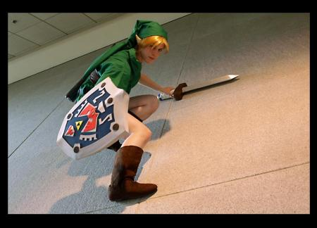 Link from Legend of Zelda: Majora's Mask worn by Blanko