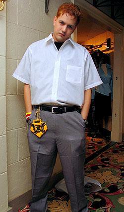 Ichigo Kurosaki from Bleach worn by OrochiSerge