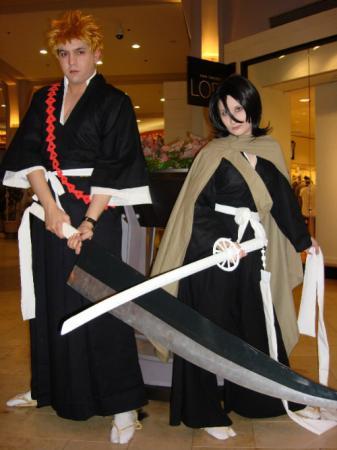 Ichigo Kurosaki from Bleach (Worn by OrochiSerge)