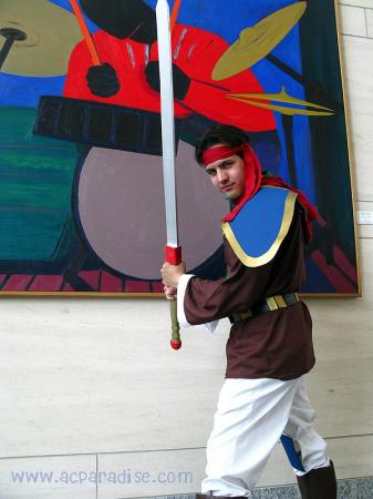 Luke from Slayers worn by OrochiSerge