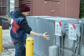 Delsin Rowe from Infamous: Second Son  by OrochiSerge