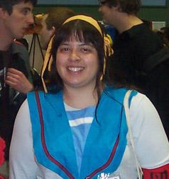 Haruhi Suzumiya from Melancholy of Haruhi Suzumiya