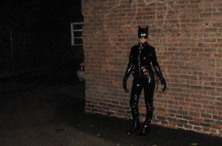 Catwoman from Batman worn by Chinako
