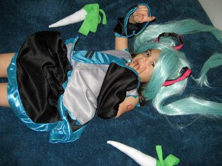 Hatsune Miku from Vocaloid 2 worn by Chinako
