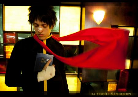 Knuckle from Katekyo Hitman Reborn! (Worn by shadownet752)