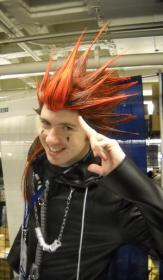 Axel from Kingdom Hearts 2  by Zaxel