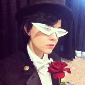 Tuxedo Kamen from Sailor Moon  by Admantius