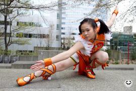 Ling Xiaoyu from Tekken 6