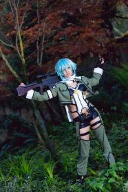 Sinon from Sword Art Online worn by Kuro Tsuki